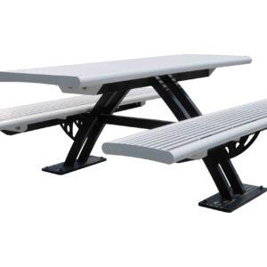 Picknicktafel van staal CLARO